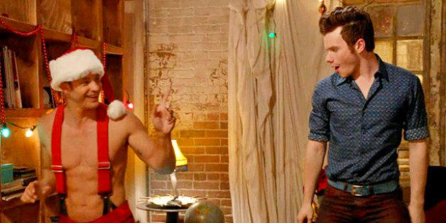 tonight is glees holiday episode previously unaired christmas at 9 pm on fox and what better way to celebrate the holidays than inhaling some - Glee Previously Unaired Christmas