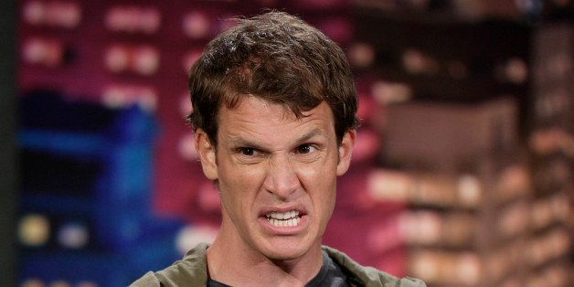 THE TONIGHT SHOW WITH JAY LENO -- Episode 3376 -- Pictured: Comedian Daniel Tosh performs on May 24, 2007  (Photo by Paul Dri