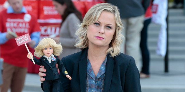 PARKS AND RECREATION -- 'Gin It Up' Episode 606 -- Pictured: Amy Poehler as Leslie Knope -- (Photo by: Chris Haston/NBC/NBCU