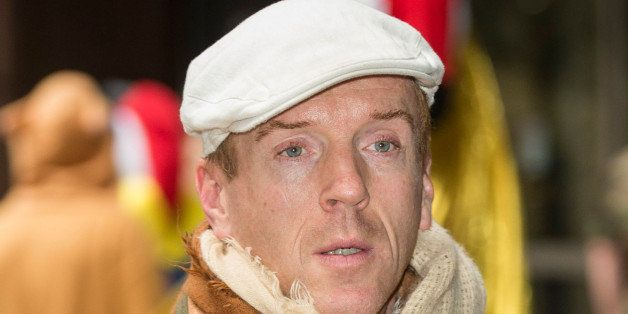 LONDON, ENGLAND - DECEMBER 03:  Damien Lewis attends the ICAP Charity Day on December 3, 2013 in London, England.  (Photo by