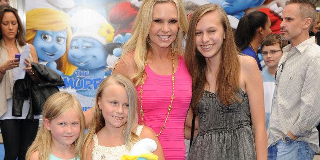 WESTWOOD, CA - JULY 28:  Tamra Barney arrivies at the 'Smurfs 2' - Los Angeles Premiere at Regency Village Theatre on July 28