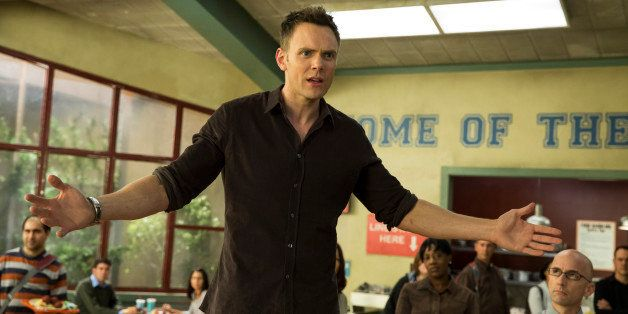 COMMUNITY -- 'Introduction to Teaching' Episode 502 -- Pictured: Joel McHale as Jeff WInger -- (Photo by: Justin Lubin/NBC/NB