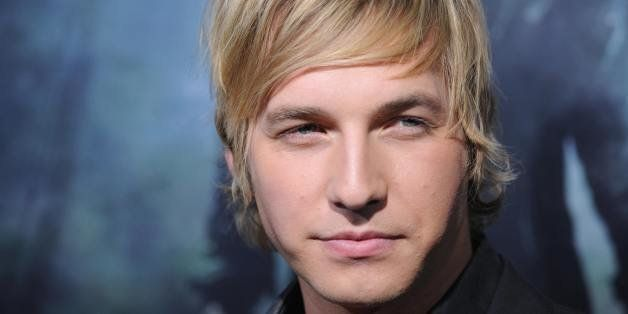 Cast member Ryan Hansen arrives on the red carpet for the Los Angeles premiere of 'Friday The 13th' at the Grauman?s Chinese