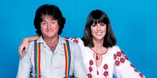 UNITED STATES - MAY 03:  MORK & MINDY - Gallery - Season One - 5/24/1978, Robin Williams stars as Mork, a comedic alien who t