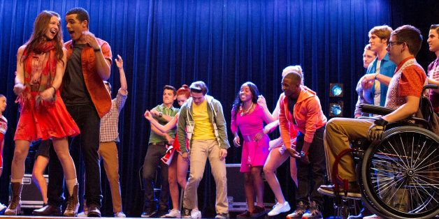 GLEE: The Glee club learns how to twerk in 'The End of Twerking' episode of GLEE airing Thursday, Nov. 14, 2013 (9:00-10:00 P