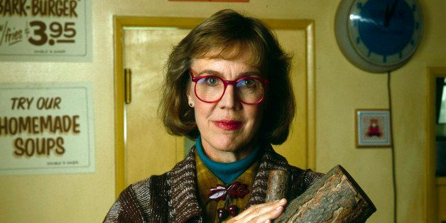 TWIN PEAKS - 'Log Lady' Gallery - Shoot Date: July 26, 1990. (Photo by ABC Photo Archives/ABC via Getty Images) CATHERINE E.