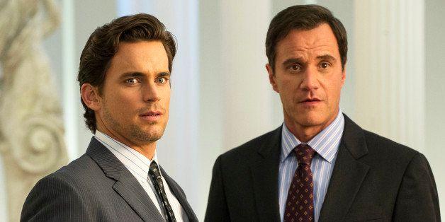 WHITE COLLAR -- 'The Original' Episode 415 --  Pictured: (l-r) Matt Bomer as Neal Caffrey, Tim DeKay as Peter Burke -- (Photo