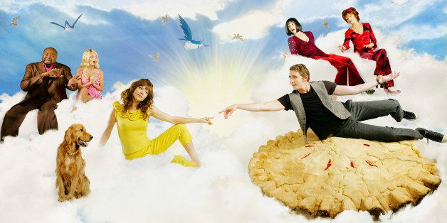 UNITED STATES - JUNE 29:  PUSHING DAISIES - ABC's 'Pushing Daisies' stars Lee Pace as Ned, Anna Friel as Chuck, Chi McBride a