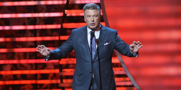 NEW YORK, NY - FEBRUARY 01:  Actor Alec Baldwin hosts the 3rd Annual NFL Honors at Radio City Music Hall on February 1, 2014