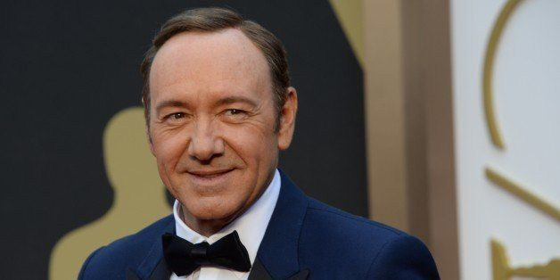 Actor Kevin Spacey arrives on the red carpet for the 86th Academy Awards on March 2nd, 2014 in Hollywood, California. AFP PHO
