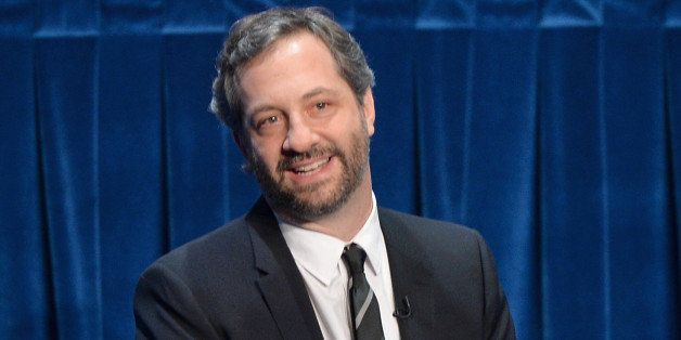 BEVERLY HILLS, CA - MARCH 10:  Writer Judd Apatow attends The Paley Center For Media's 2014 PaleyFest Icon Award announcement