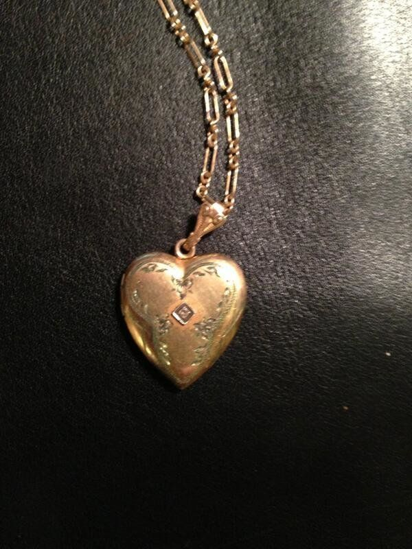 """Baker found the locket at the Jewelry Mart in downtown Los Angeles. """"The general rule of props is to get two of each in case"""