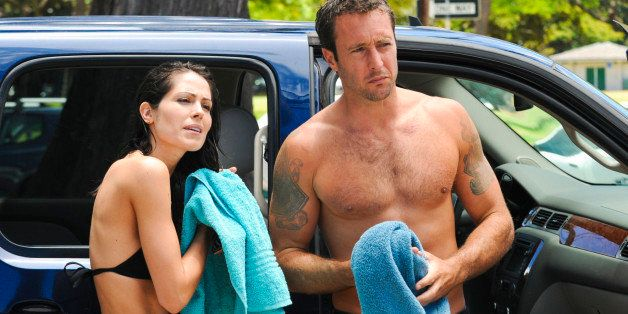 HONOLULU - JULY 27: 'Kanalua'--Catherine (Michelle Borth) and McGarrett (Alex O'Loughlin) reflect and get dressed after parti
