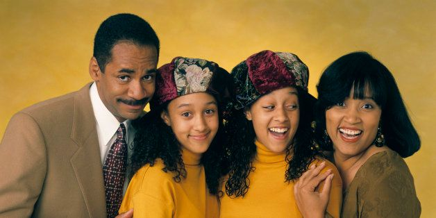 UNITED STATES - MAY 09:  SISTER, SISTER - Gallery 10/6/93 Tim Reid, Tamera Mowry, Tia Mowry, Jackee Harry  (Photo by ABC Phot