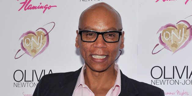 LAS VEGAS, NV - APRIL 11:  Television personality RuPaul attends the grand opening of Olivia Newton-John's residency show 'Su