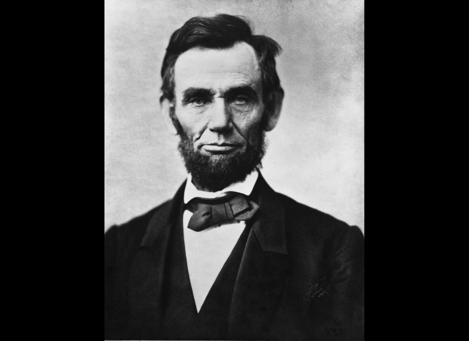 {{FeaturedPicture|<span>Abraham</span> <span>Lincoln</span> head on shoulders photo portrait}}