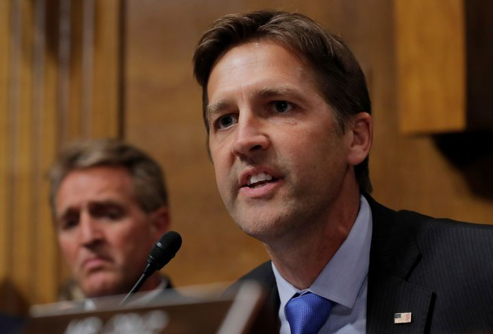 Sen. Ben Sasse (R-Neb.) says he'd urged President Donald Trump last summer to nominate a woman for the Supreme Court seat.