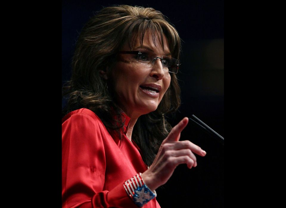 Former Alaska Governor, Sarah Palin addresses the Conservative Political Action Conference (CPAC), at the Marriott Wardman Pa