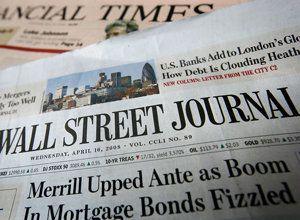 Wall Street Journal Circulation Flat &mdash