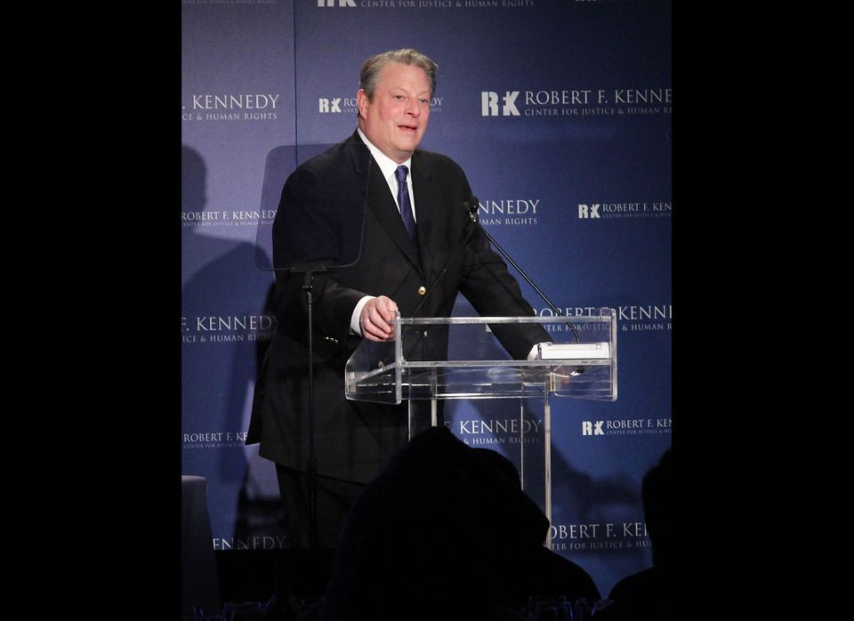 NEW YORK, NY - DECEMBER 05:  Al Gore attends the Robert F. Kennedy Center for Justice and Human Rights 2011 Ripple of Hope Aw