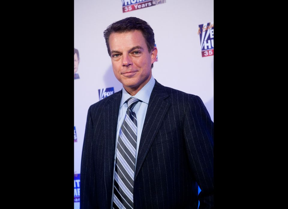 WASHINGTON - JANUARY 08: FOX News host Shepard Smith poses on the red carpet upon arrival at a salute to FOX News Channel's B