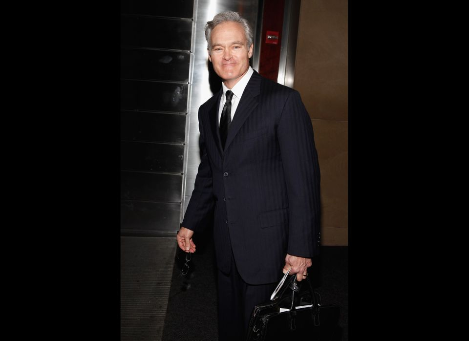 NEW YORK, NY - JANUARY 12:  Journalist Scott Pelley attends the Andy Rooney Memorial at Jazz at Lincoln Center on January 12,