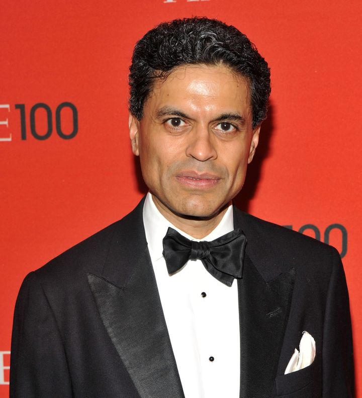 NEW YORK, NY - APRIL 26:  Journalist Fareed Zakaria attends the TIME 100 Gala, TIME'S 100 Most Influential People In The Worl