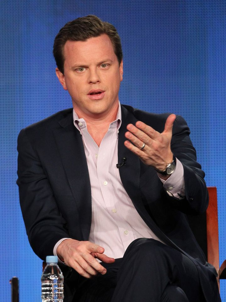 PASADENA, CA - JANUARY 07:  (L-R) Co-host Willie Geist speaks onstage during the 'Morning Joe' panel during the NBCUniversal
