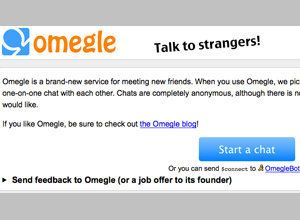 Omegle com: Forget Friends, Website Offers Chat With