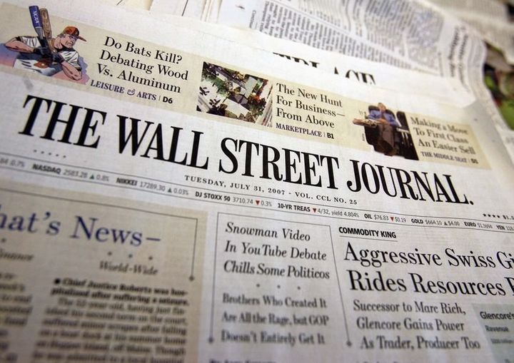 Wall Street Journal Only Top 25 Newspaper To Report