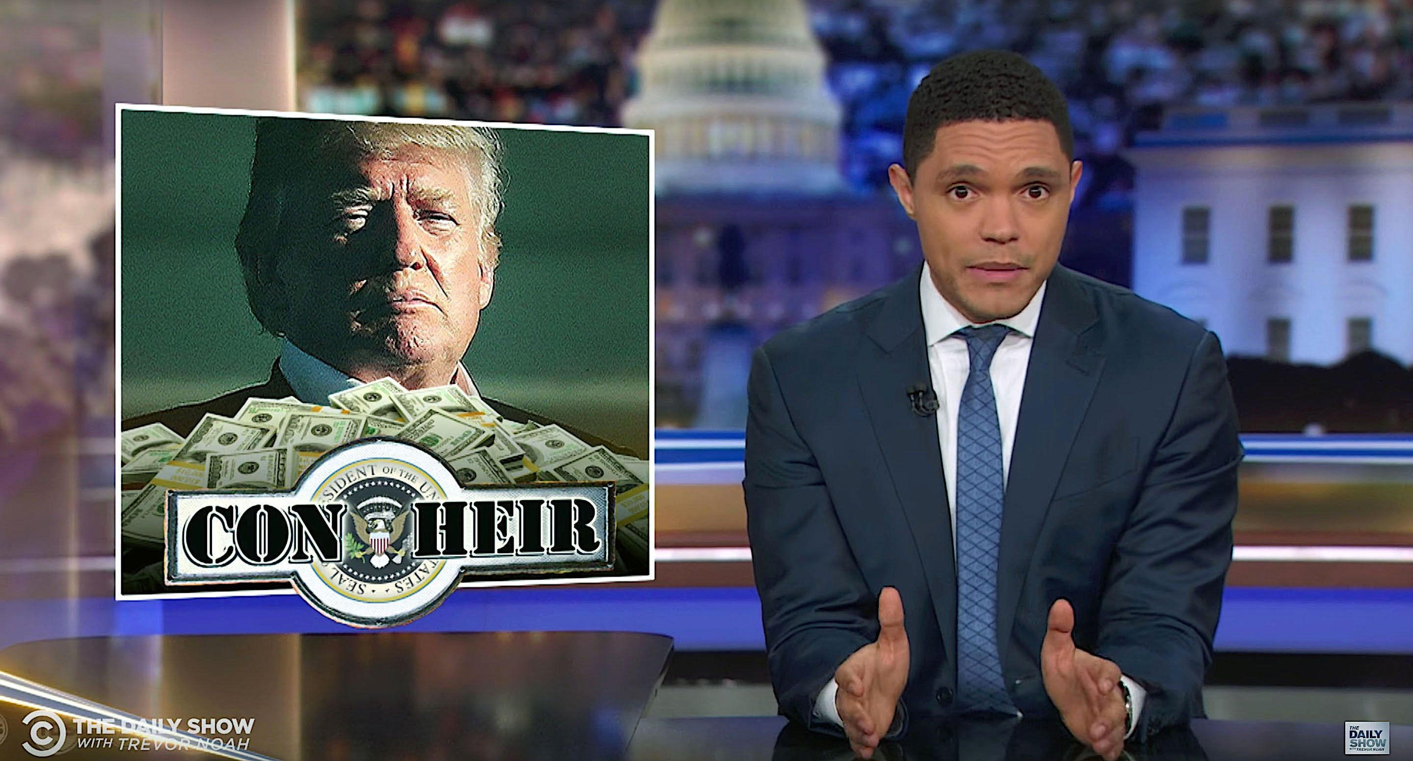 Trevor Noah takes a look at President Donald Trumps finances