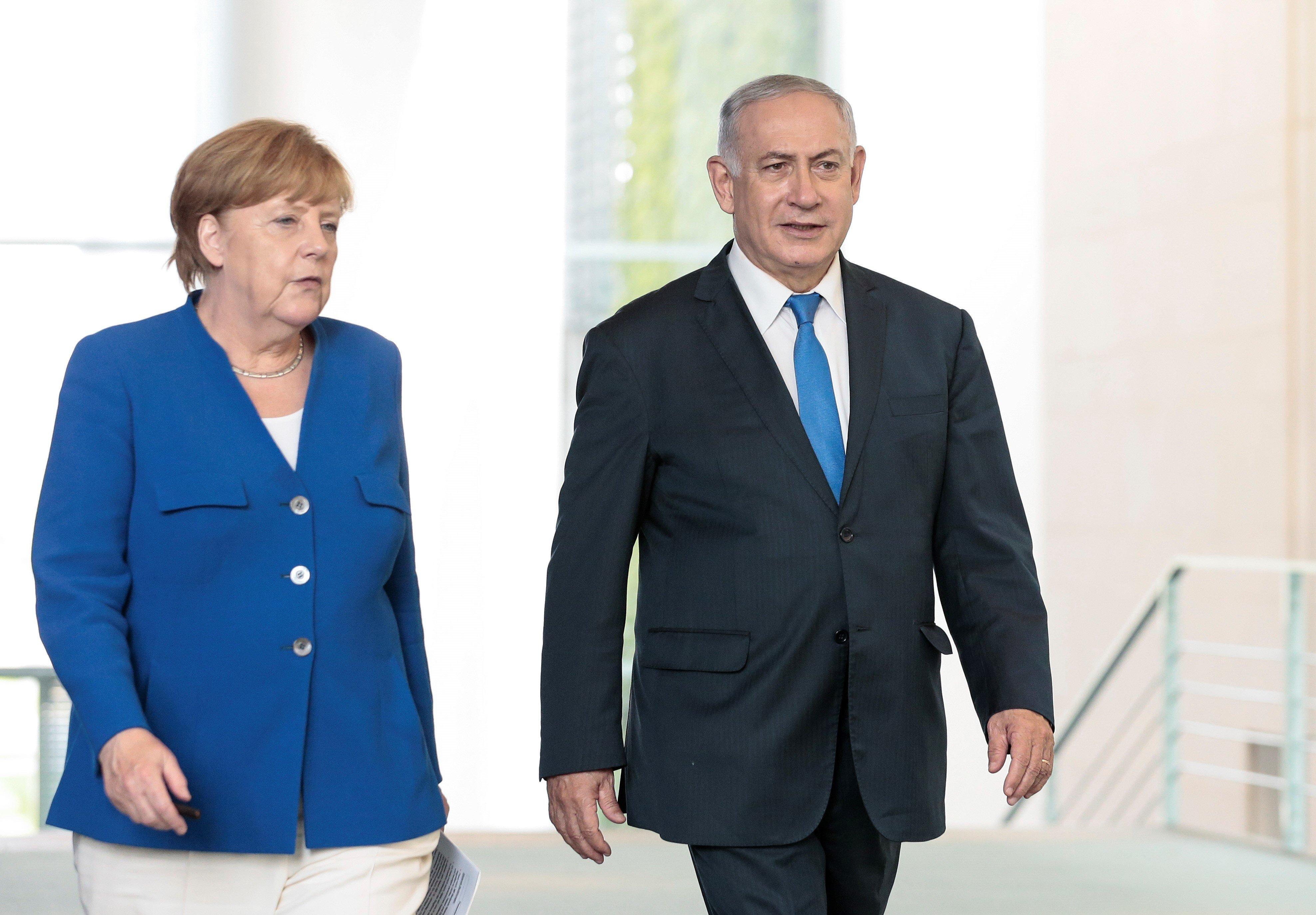 Συνάντηση Μέρκελ με Νετανιάχου στο Ισραήλ μετά από «πάγωμα» των επαφών για ένα
