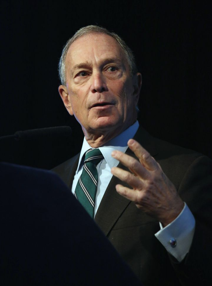 NEW YORK, NY - DECEMBER 06:  New York City Mayor Michael Bloomberg speaks on long-term challenges facing the city following S