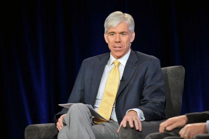 ATLANTA, GA - MAY 07: NBC's Meet the Press Host David Gregory attends NBC News Education Nation Job One Panel Discussion at G