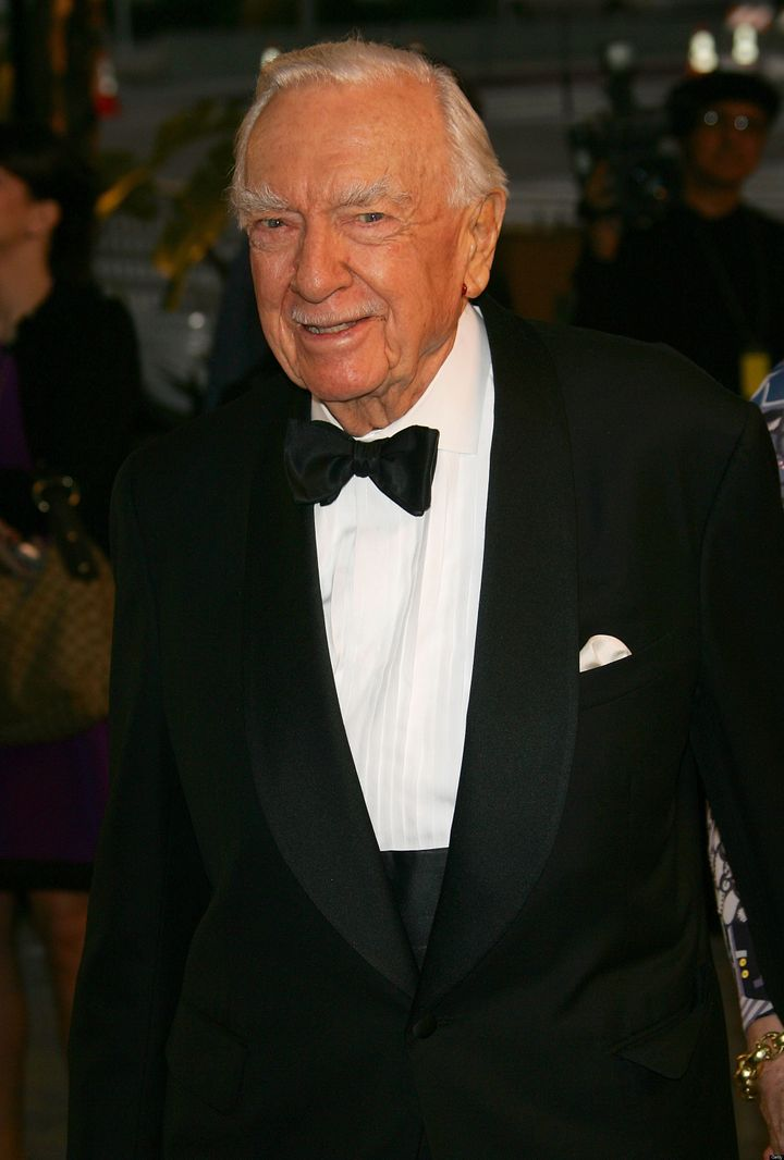 Walter Cronkite When He Wasnt The Most Trusted Man In America
