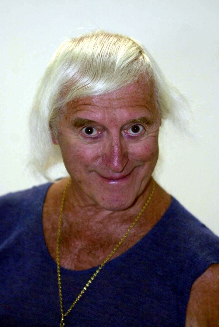 File photo dated 15/08/2000 of Jimmy Savile. The review into Newsnight's shelving of a report into Savile's decades long camp