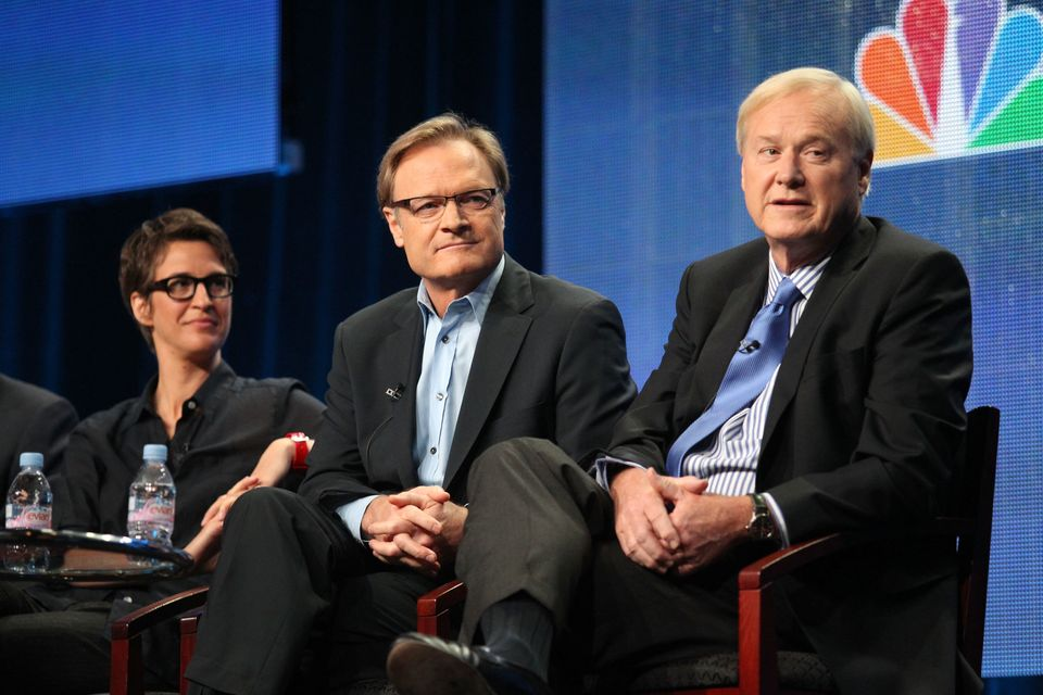 Rachel Maddow and Chris Matthews will lead MSNBC's coverage of Inauguration Day from 10 a.m. ET to 4 p.m. ET, with Lawrence O