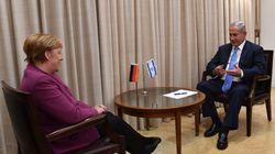 Merkel zeigt schon vor Abreise nach Israel, dass ein Eklat drohen