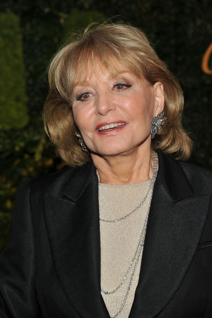 NEW YORK, NY - MAY 22:  Barbara Walters attends the 2012 Party in the Garden benefit at the Museum of Modern Art on May 22, 2