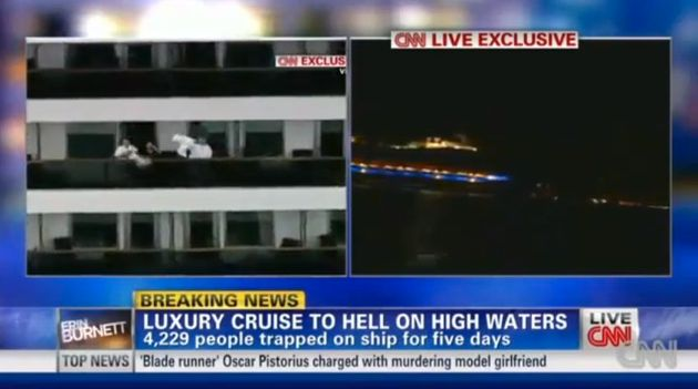 CNN Cruise Ship Coverage Leads To Ratings Spike | HuffPost