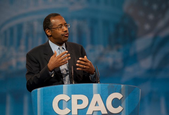 UNITED STATES - MARCH 16:  Dr. Ben Carson during the 2013 Conservative Political Action Conference at the Gaylord National Re