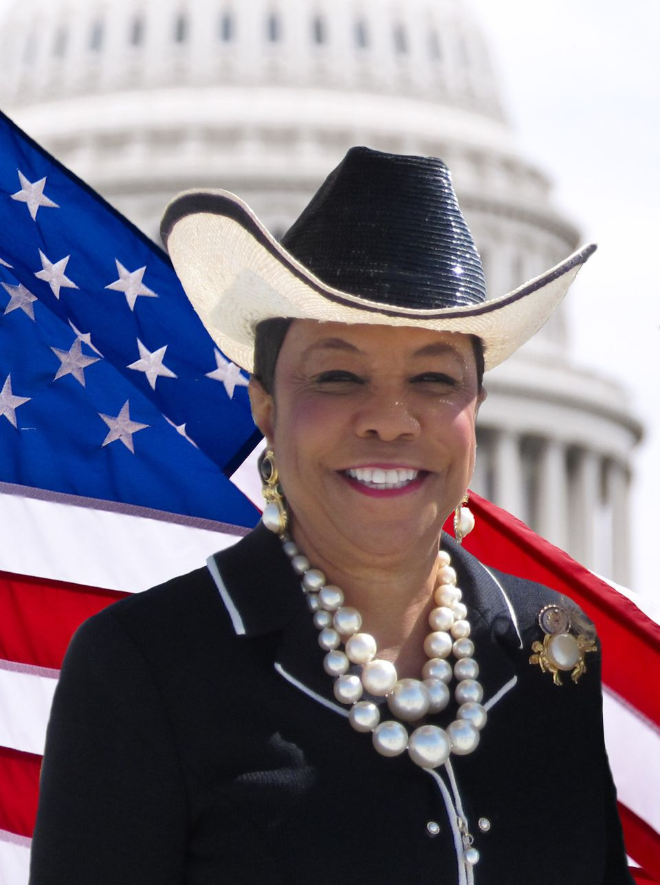 Rep. Frederica Wilson (D-Fla.) is rarely seen without one of her signature, colorful, wide-brimmed hats. She's even said she