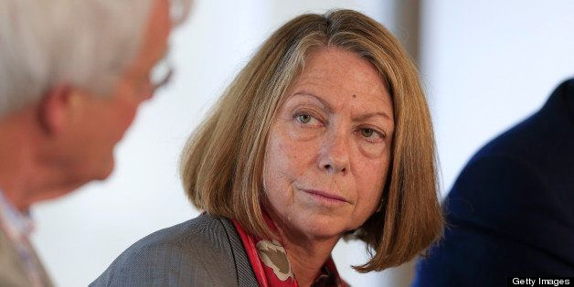 Jill Abramson, executive editor of The New York Times, listens during a panel discussion on the sidelines of the Republican N