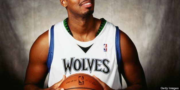 MINNEAPOLIS - SEPTEMBER 29:  Jason Collins #34 of the Minnesota Timberwolves poses for a portrait during NBA Media Day on Sep