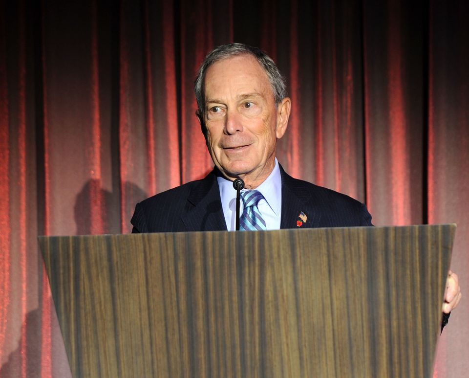 NEW YORK, NY - MAY 08:  Mayor Michael Bloomberg speaks at the Norwegian Breakaway Christening Ceremony on May 8, 2013 in New