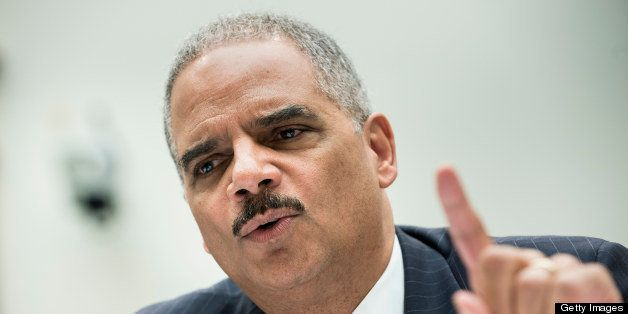 US Attorney General Eric H. Holder testifies during a hearing of the House Judiciary Committee on Capitol Hill May 15, 2013 i
