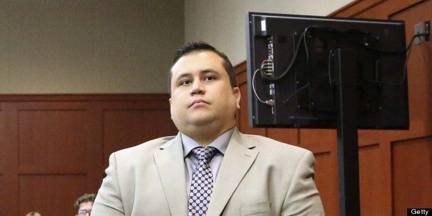 George Zimmerman, the accused shooter in the death of Trayvon Martin, appears in Seminole Circuit Court in Sanford, Florida,