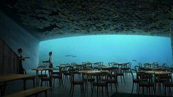 To μεγαλύτερο υποβρύχιο εστιατόριο του κόσμου ετοιμάζεται να ανοίξει τις πόρτες του το