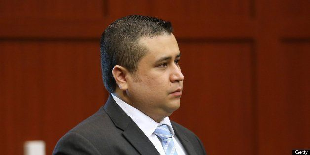 George Zimmerman arrives for another day of his trial in Sanford, Florida, Friday, June 28, 2013. Zimmerman is accused in the fatal shooting of Trayvon Martin. (Joe Burbank/Orlando Sentinel/MCT via Getty Images)