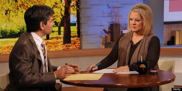GOOD MORNING AMERICA - Nancy Grace is a guest on 'Good Morning America,' 11/2/12, airing on the ABC Television Network. (Phot